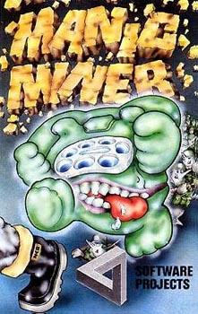 """Carátura de """"Manic Miner"""""""