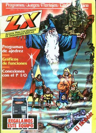Portada del número 14 de ZX
