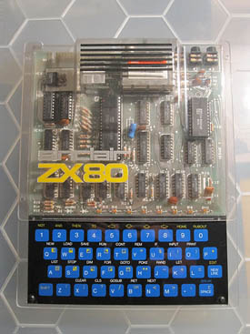 Sinclair ZX-80 transparente