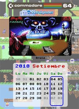 Calendario C64 de Retroinvaders