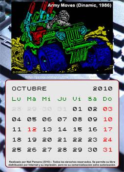 Calendario Speccy de Neil Parsons