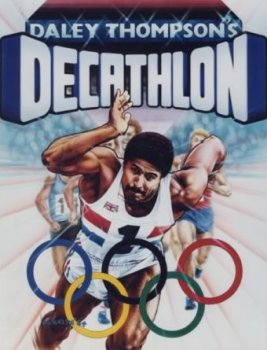 Carátula de Daley Thompson´s Decathlon