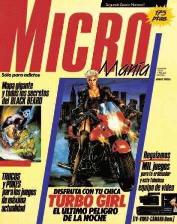 """La mítica portada de la primera Micromanía """"Segunda Época"""""""