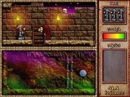 Imagen del remake de Spirits creado por M.A. Software