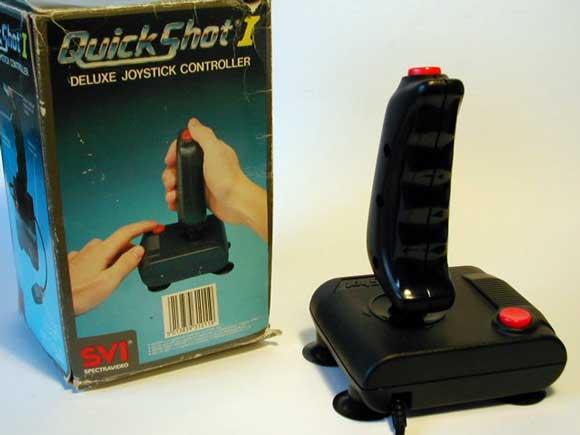 La evolución de los joystick