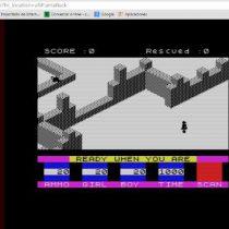 Qaop, un buen emulador online de Spectrum